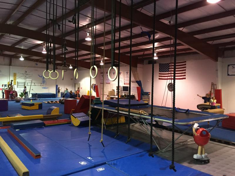 Freedom Gymnnastics Rope and Rings