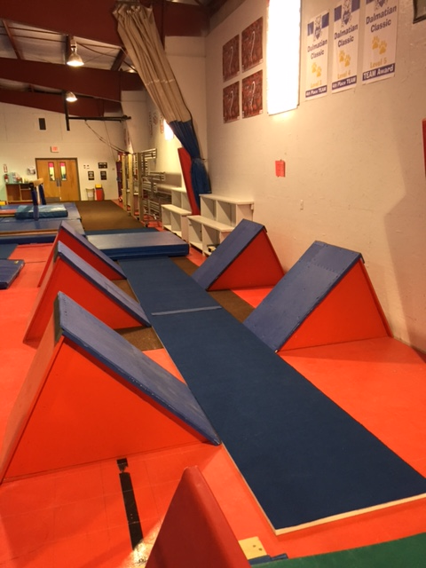 Quintuple Steps at Freedom Gymnastics